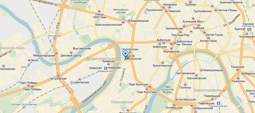 Navigator-Smolenskaya-map