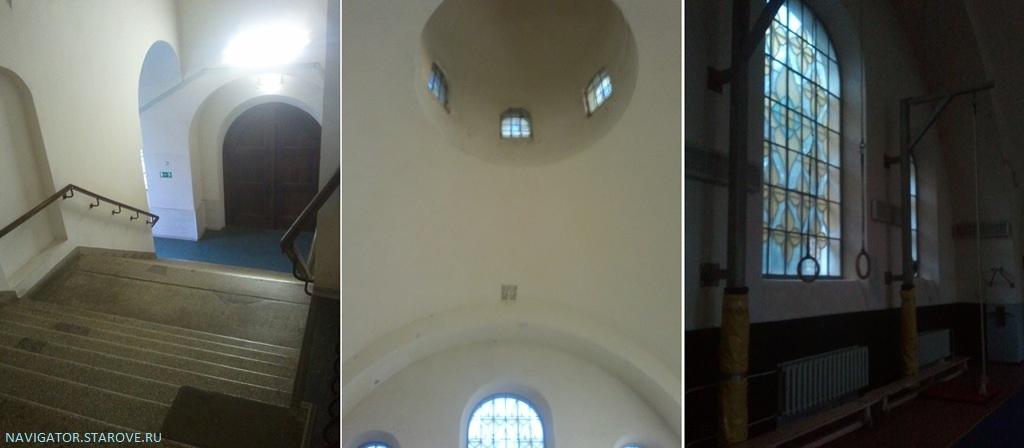 """Внутреннее """"убранство"""" старообрядческого храма в Малом Гавриковом переулке"""