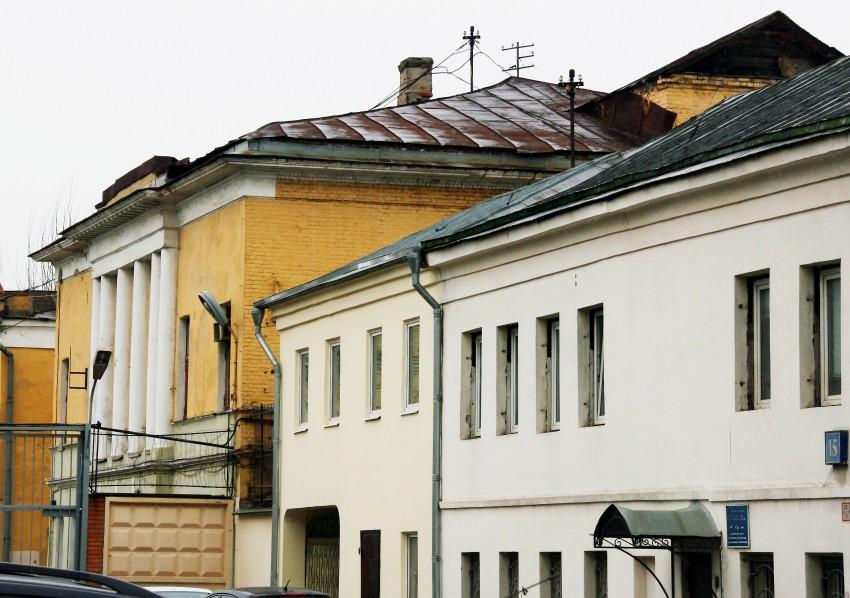 Вид на дом Балашовых во 2 Золоторожском пер. (ныне Гжельский пер.)