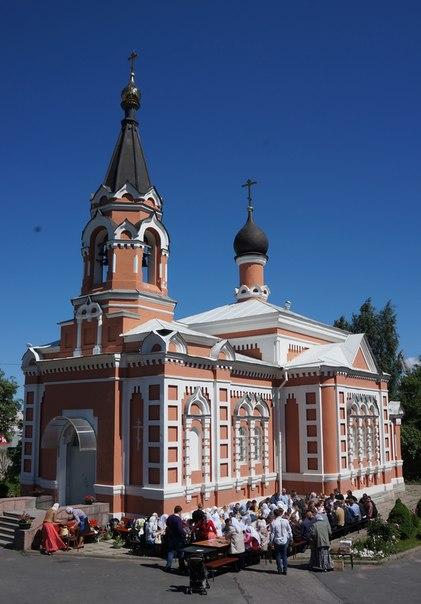 Храм Покрова Пресвятыя Богородицы. Санкт-Петербург