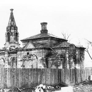 храм во время передачи