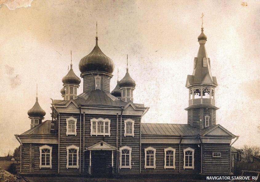 Старообрядческий храм г. Томска во имя Успения Пресвятой Богородицы (РПСЦ), по окончании строительства