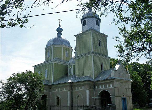 Храм во имя святых чудотворец Козмы и Дамияна . Белая Криница