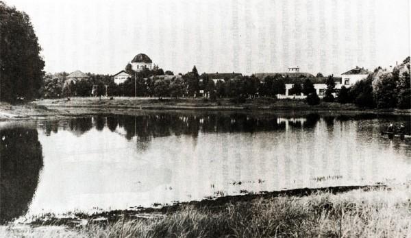 Вид на Климовский монастырь