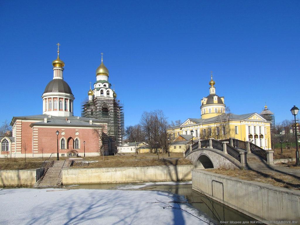 Рогожская Слобода, Покровский, Рождественский храм и колокольня во имя Воскресения Христова