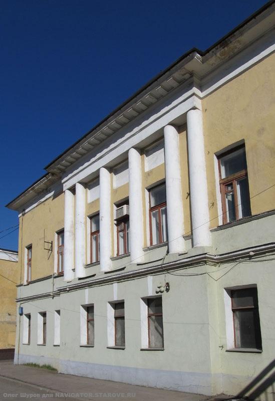 Бывший храм во имя св. мученика Сергия и Вакха во 2 Золоторожском пер. (ныне Гжельский пер.)