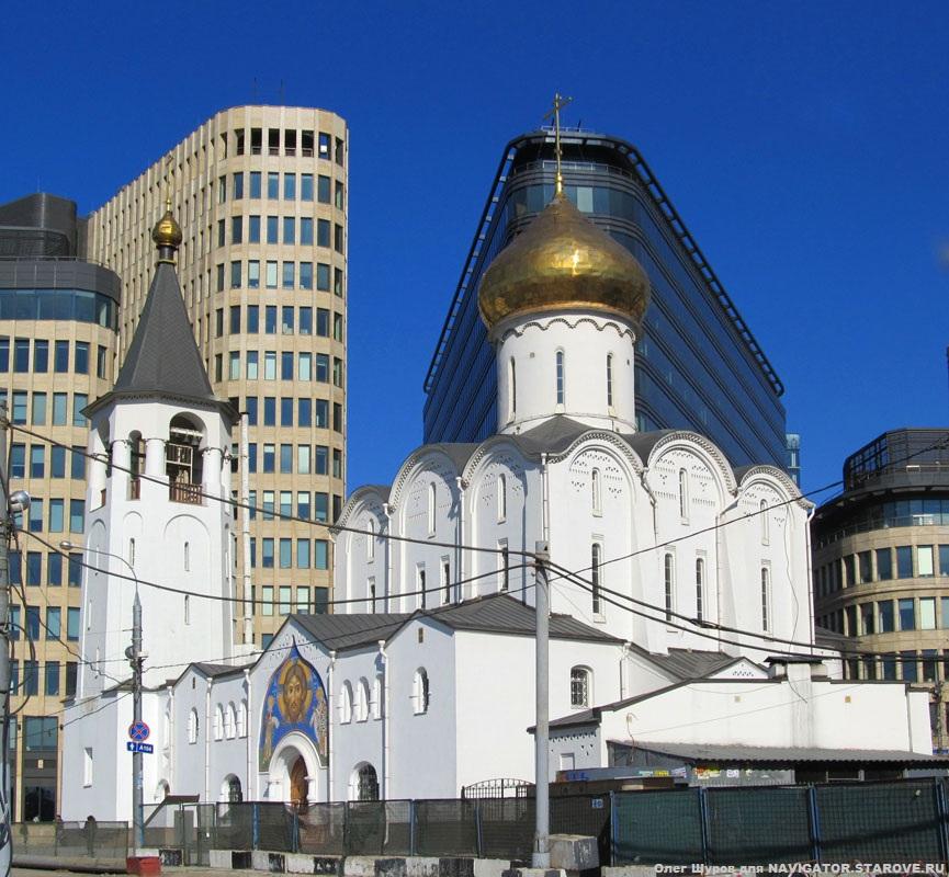 Церковь св. Николы Чудотворца (Бутырский вал 8/3, ранее пересечение Камер-Коллежского вала и Царского пер.)