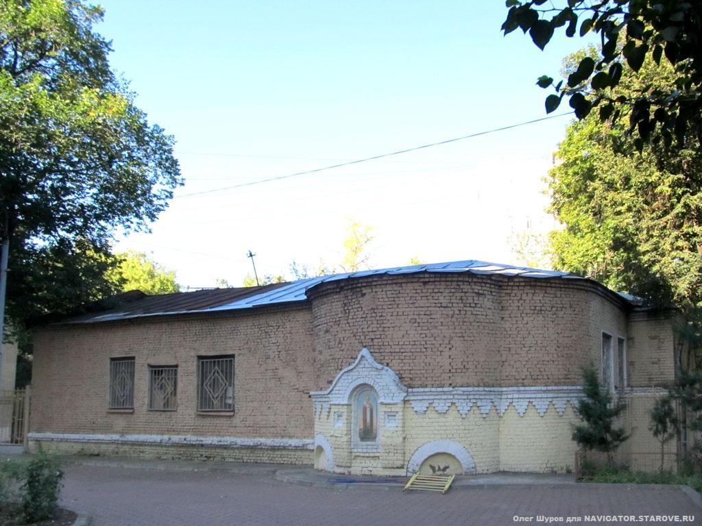 Храм во имя св.Николы Чудотворца Свято-Никольской старообрядческой общины в Лефортово.