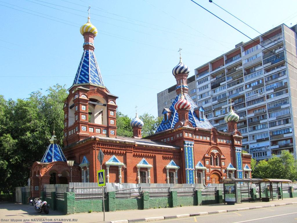 Храм Хавской старообрядческой общины после реставрации в 2000-х годах. Фото 2014 года.