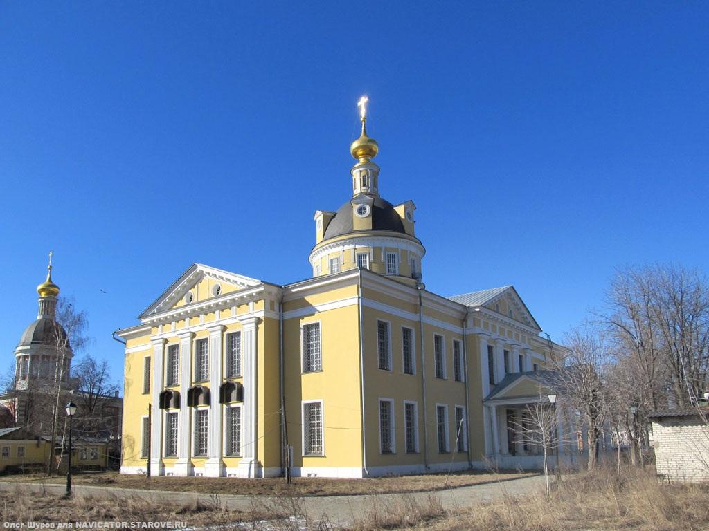 Рогожский поселок. Главный старообрядческий собор РПСЦ, возведенный в 1792 г. (архитектор М.Ф. Казаков).