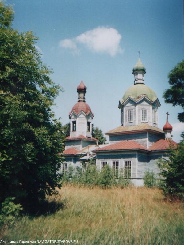 Старообрядческий храм Успения Пресвятыя Богородицы. Святск