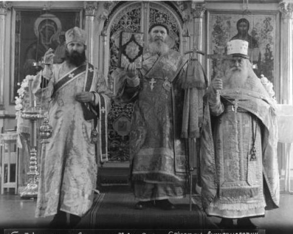 Протодиакон Гурий, Архиепископ Павел, протоиерей