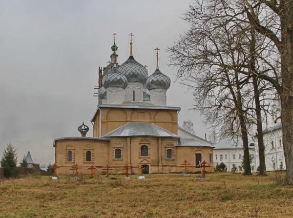 Собор Николая Чудотворца. Николо-Улейминский монастырь.
