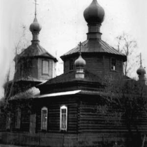 Храм в 1982 г. Фото предоставлено А.А.Безгодовым