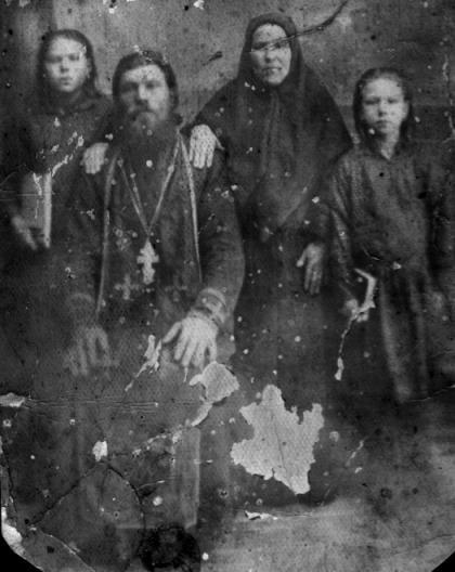 Отец Максим Коркин со своей семьей