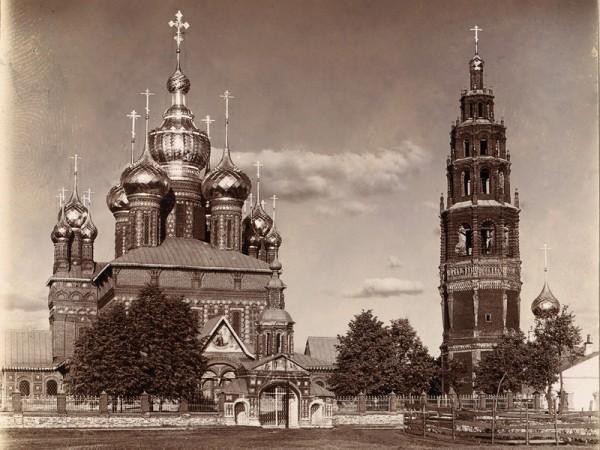Храм Иоанна Предтечи в Толчковской слободе, архивное фото
