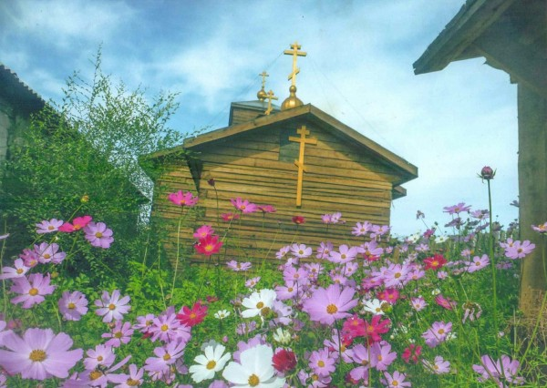 Старообрядческий храм во имя великомученика Георгия Победоносца. Кызыл
