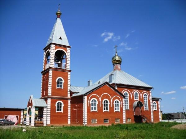 Храм святителя Стефана Пермскаго. Пермь