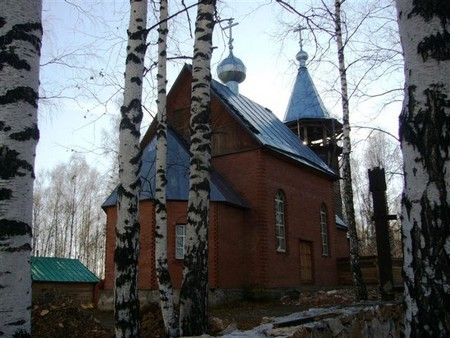 Храм Архангела Михаила. Урск
