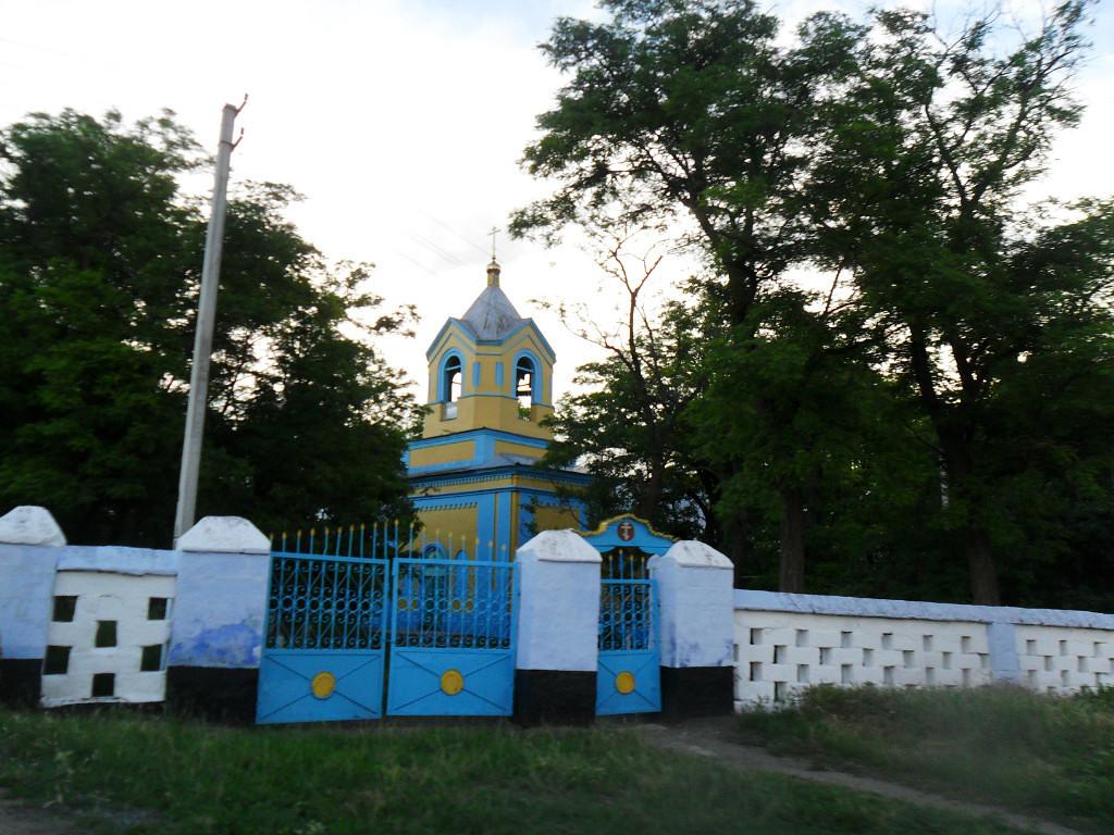 Храм Воздвижения Креста Господня. Великоплоское