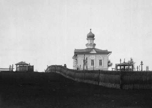Дореволюционное фото часовни в Павловске.