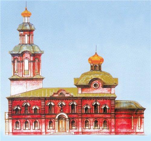 Храм Казанской иконы Пресвятой Богородицы. Барнаул