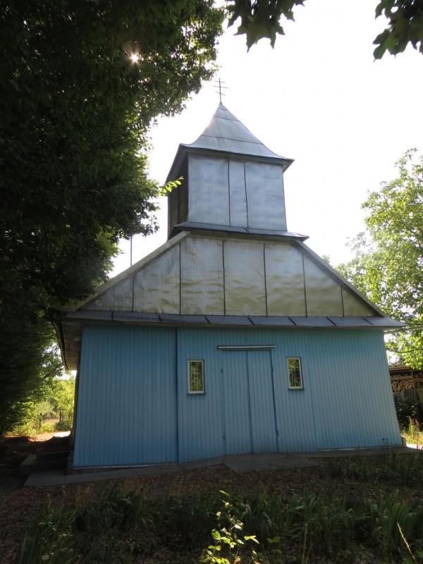 Старообрядческий храм Покрова Пресвятыя Богородицы. Хотин