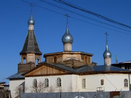 Храм апостолов Петра и Павла. Якутск