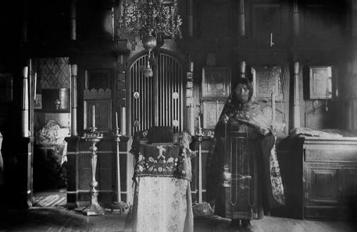 Старообрядческая церковь в Якутске до революции.