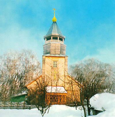 Храм во имя преподобного Сергия Радонежского. Микварово
