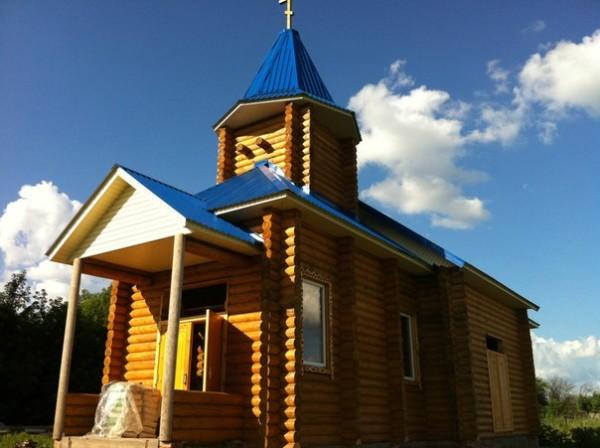 Храм во имя святых апостолов Петра и Павла. Можарки