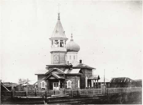 Омутнинск, 1913-14 гг., Старообрядческая церковь Белокриницкой общины. Построена в 1912 г.