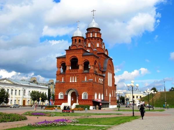 Храм Троицы Живоначальной. Владимир