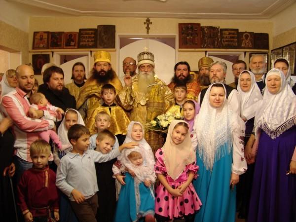 Освящение храма. Воронеж