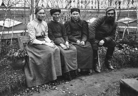 Снимок староверов Якутска (фото архивное).