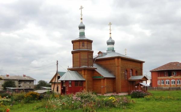 храм во имя Владимирской иконы Пресвятой Богородицы. Арья