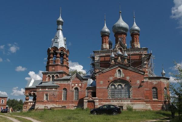 Храм во имя Казанской иконы Пресвятой Богородицы. Филипповское