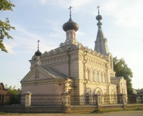 Храм святителя Николы Чудотворца. Семенов