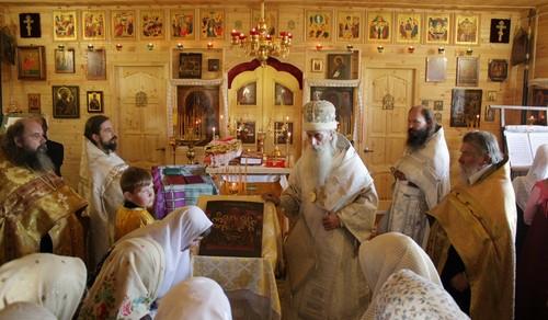 Храм Успения Пресвятыя Богородицы. Беливо