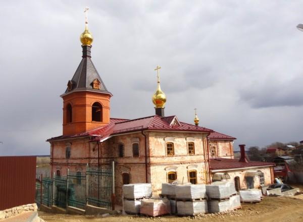 Храм Казанской Пресвятой Богородицы. Безводное
