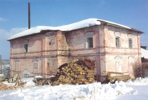 Здание храма Казанкой иконы Пресвятыя Богородицы с Безводное(2009 г
