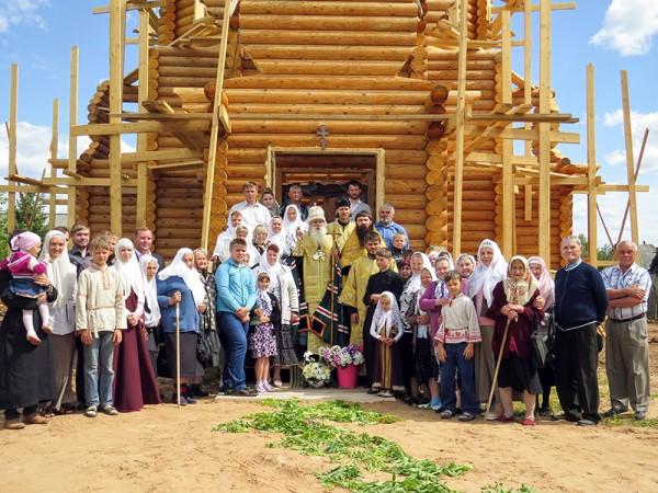Старообрядческий храм во имя Владимирской иконы Пресвятыя Богородицы.Тонкино
