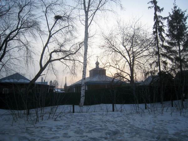Храм великомученицы Варвары. Новосибирск