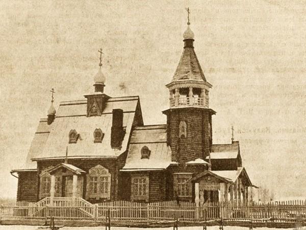 Старообрядческий храм преподобного Михаила Малеина. Тимково