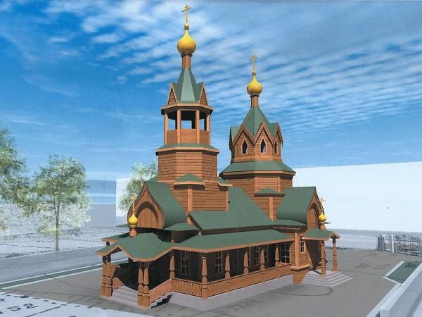 Проект храма Рождества Пресвятыя Богородицы. Нижний Новгород