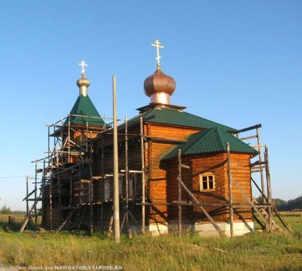Храм во имя святаго пророка Илии Фезвитянина. Елкино