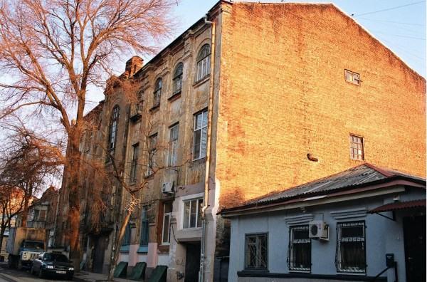 Ул. Воронцовская (ныне Баумана). Богадельный дом. Фото 2010.