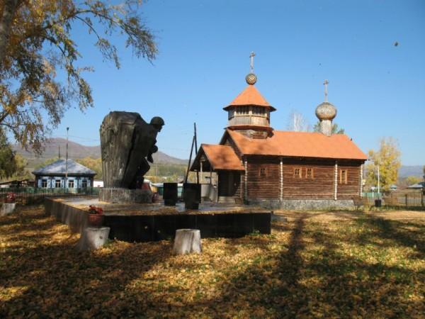 Старообрядческий храм во имя иконы Знамения Пресвятыя Богородицы. Бобровка