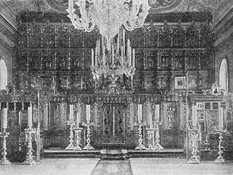 тарообрядческий храм во имя Святаго Великомученика Георгия Победоносца. Егорьевск