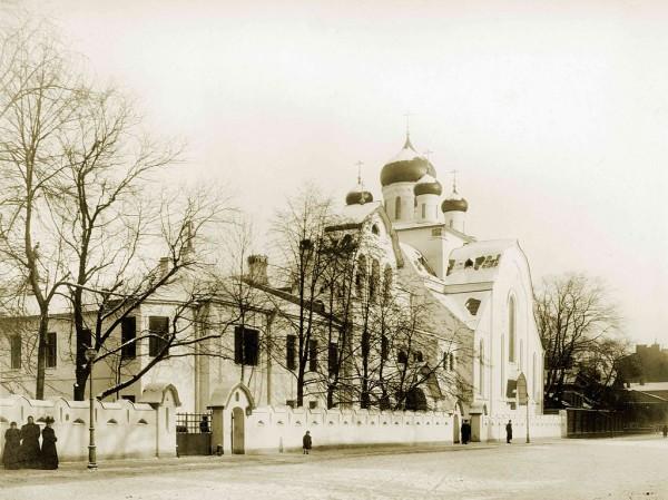 Церковь Общины Старообрядцев Поморского Согласия, Вид с Таврической улицы 1909 г.